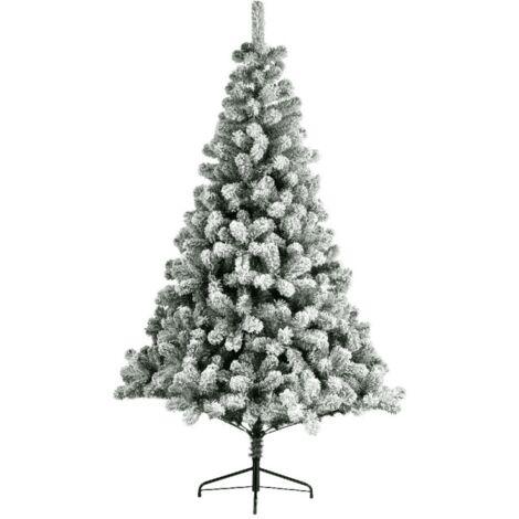 Sapin artificiel SNOWY IMPERIAL (180 cm) Haut de Gamme Sapin NOEL Arbres artificiels - VERT-BLANC