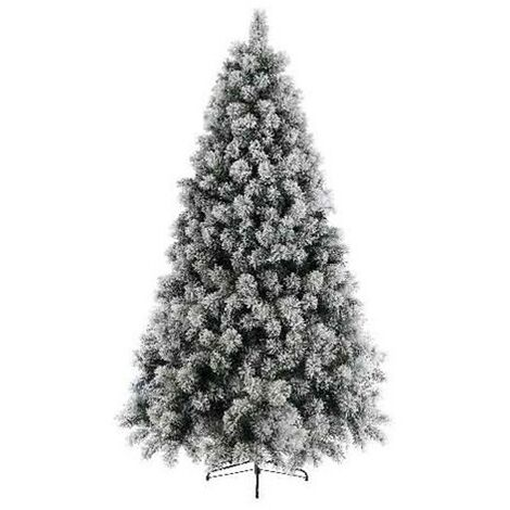 Sapin artificiel VANCOUVER ENNEIGE (150 cm) Haut de Gamme Sapin NOEL Arbres artificiels - VERT-BLANC