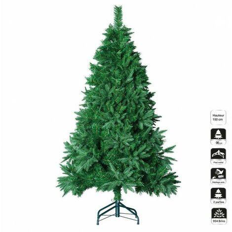 Sapin de Noël 150 cm vert d'oregon - Vert