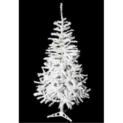 Sapin de Noël artificiel - 180 cm - Blanc