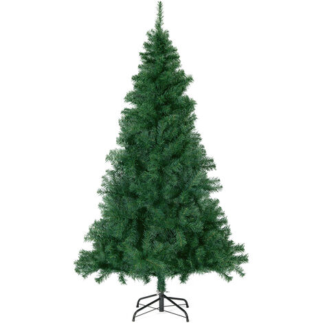 Sapin de Noël artificiel, 180 cm Vert 560 Pointes de Branche