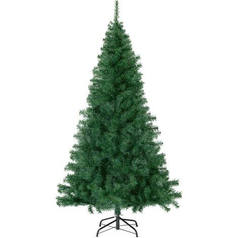 Sapin de Noël artificiel, 210 cm Vert 718 Pointes de Branche