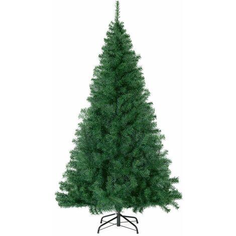 Sapin de Noël artificiel, 240 cm Vert 998 Pointes de Branche