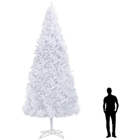 Sapin de Noël artificiel 500 cm Blanc