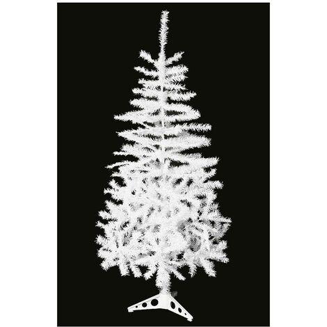 Sapin de Noël artificiel 80 branches - 90 cm - Blanc