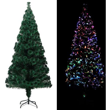 Sapin de Noël artificiel avec support Vert 240 cm PVC