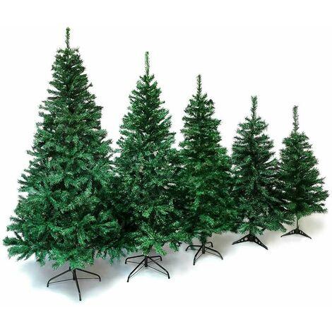 Sapin de Noël artificiel blanc Deluxe