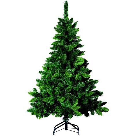 Sapin de Noël artificiel Blooming - H. 150 cm - Vert