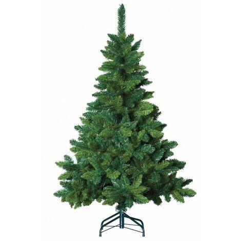 Sapin de noël artificiel Blooming - Vert - 210 cm - Livraison gratuite