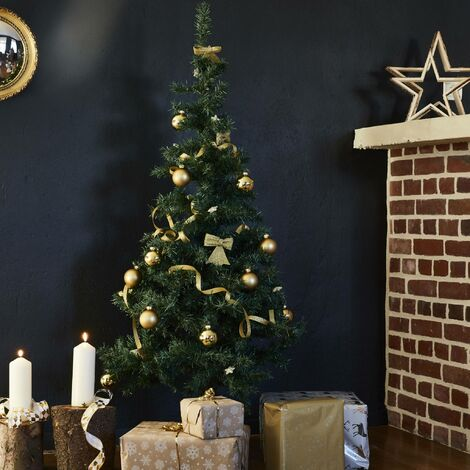 Sapin de Noël artificiel de 180 cm, pied inclus