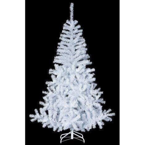 Sapin de noël artificiel Elégant - Blanc - 240 cm - Livraison gratuite