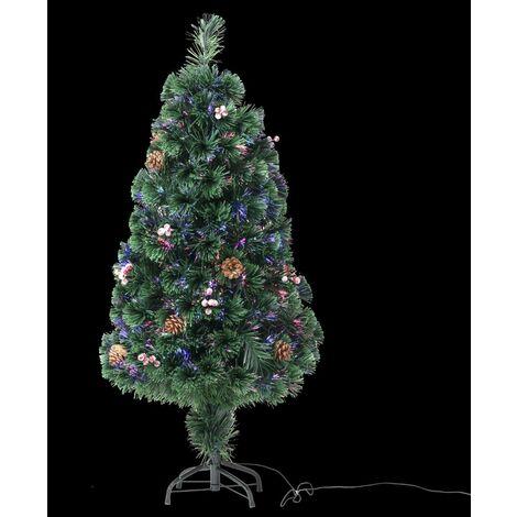 Sapin de Noël artificiel fibre optique Vienna 120 cm - Fééric Christmas - Couleurs variantes
