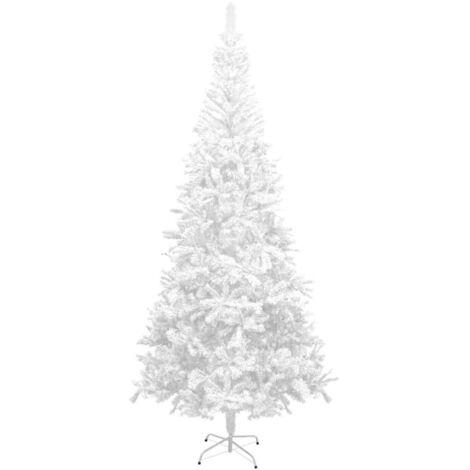Sapin de Noël artificiel L 240 cm Blanc