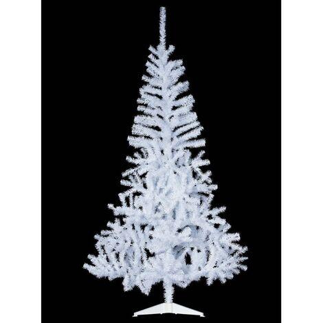 Sapin de noël artificiel Snowflake blanc - 150 cm - Décoration