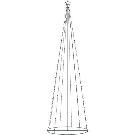 Sapin de Noël cône 330 LED colorées 100x300 cm