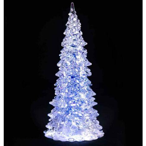 Sapin De Noel Lumineux à Led H225 Cm