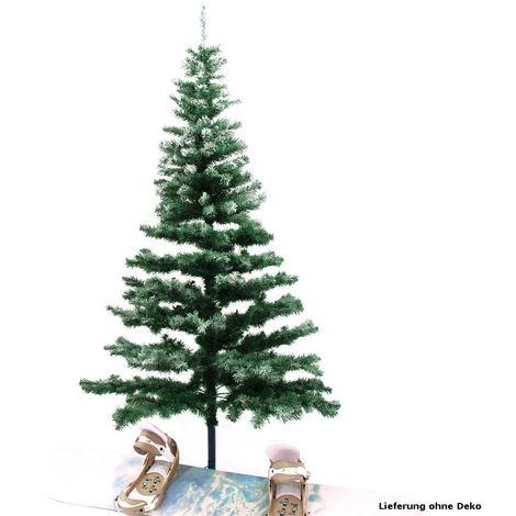 Sapin décoratif arbre Noël neige hauteur 180 cm branches enneigés Steinigke 83500190