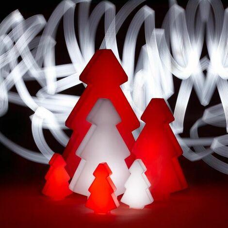 Sapin lumineux design d'extérieur Lightree SLIDE - Rouge - Taille 1 - Extérieur - Rouge