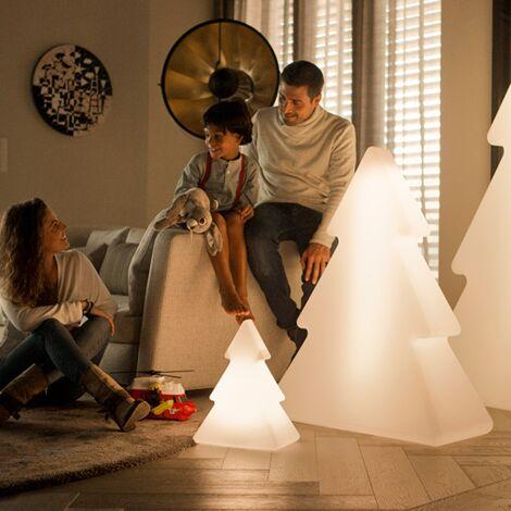 Sapin lumineux d'extérieur MOOVERE 160cm Outdoor lumière chaude