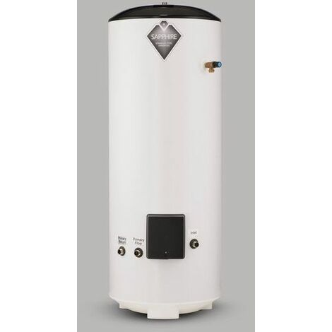 Sapphire 150L Direct Unvented Hot Water Cylinder Stainless Steel 150 Litre