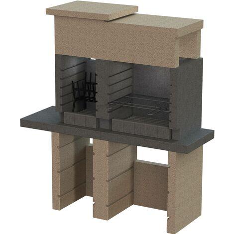 Sarom Duplex Gartengrillkamin, Modell SAN PEDRO