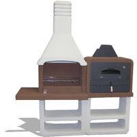 Sarom Gartengrillkamin & Ofen Kombination, Modell PORTOFINO