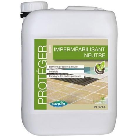 SARPAP - Imperméabilisant neutre - 5 L