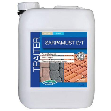 SARPAP - Traitement antimousse dallage et toiture 5L