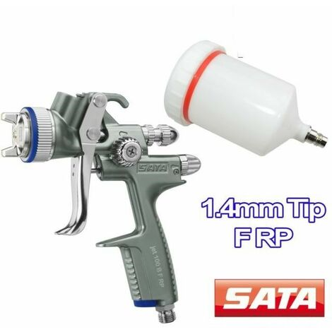 "main image of ""Sata jet 100 b f rp aerografo ugello 14mm filler primer/pistola spruzzo 06lt"""