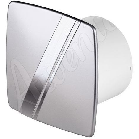 Satin Wall Extractor Fan 100mm Awenta LINEA Style with Timer and Humidity Sensor