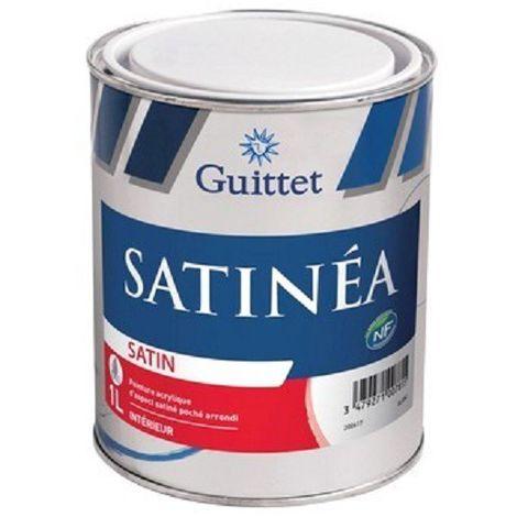 SATINEA - GUITTET - Peinture acrylique satiné poché arrondi