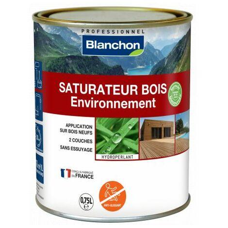 Saturateur Bois Environnement Blanchon 0,75L - Plusieurs modèles disponibles