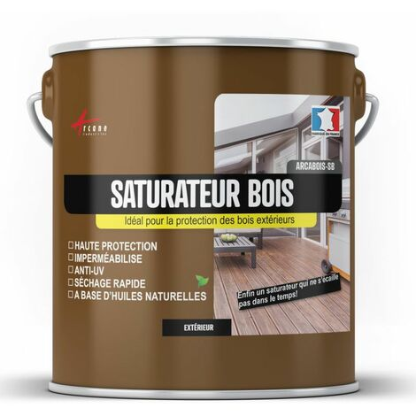 Saturateur bois terrasse bardage extérieur protection - ARCABOIS SB