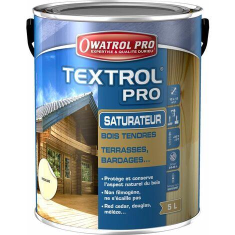 Saturateur bois textrol 5L - plusieurs modèles disponibles