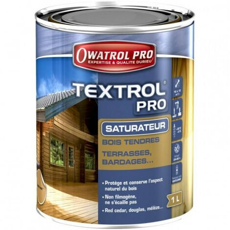 Saturateur bois Textrol Pro 1L OWATROL - plusieurs modèles disponibles