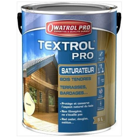 Saturateur bois textrol pro 5L incolore