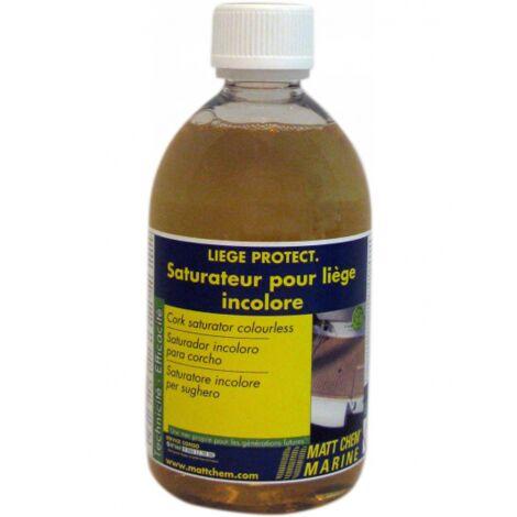 Saturateur pour liège incolore Liège Protect MATT CHEM Flacon 500 ml   bidon(s) de 0 - Flacon 500 ml