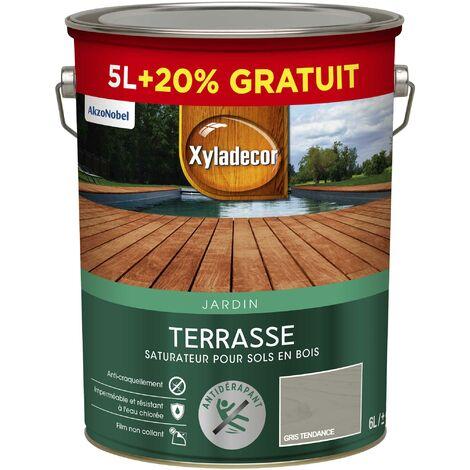 """main image of """"Saturateur Terrasses 5 & 6L Mat - sol extérieur en bois - Xyladecor"""""""