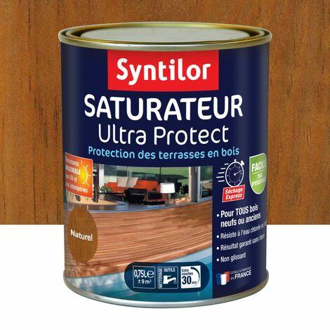 """main image of """"Saturateur Ultra Protect Syntilor pour bois neufs - Teinte - conditionnement: Gris - Pot de 0.75 L"""""""