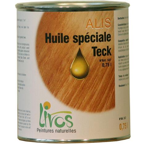 SATURATEUR terasse naturel ALIS spécial Teck (1L/22m2 en 2 couches) Livos