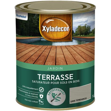 Saturateur Terrasses 1L Mat - sol extérieur en bois - Xyladecor