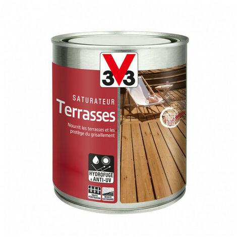 Saturateur Terrasses 1L (teinte au choix) V33 - Ton: Teck
