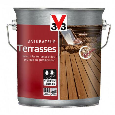 Saturateur Terrasses 2,5L (teinte au choix) V33 - Ton: Teck