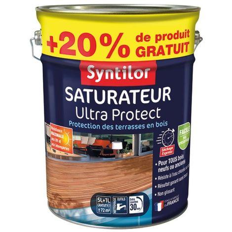 saturateur ultra protect 5l+20% bois clairs