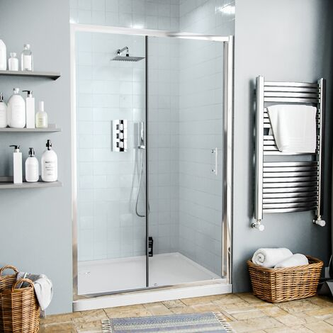 Saturn 1200 mm Glass Sliding Door Panel for Shower Enclosures