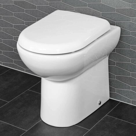 Saturn Back to Wall Toilet & Soft Close Seat