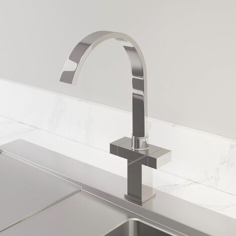 Sauber Aarau Kitchen Mixer Tap Chrome