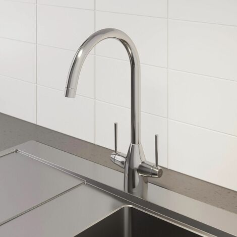 Sauber Contour Kitchen Mixer Tap