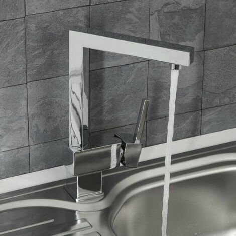 Sauber Sierre Kitchen Mixer Tap Chrome