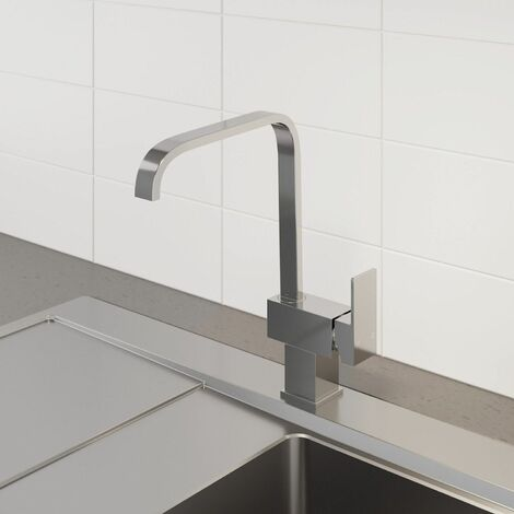 Sauber Sion Kitchen Mixer Tap Chrome